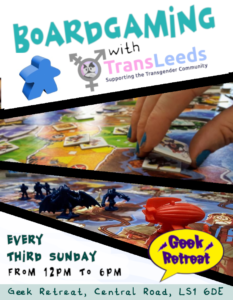 Boardgaming with TransLeeds